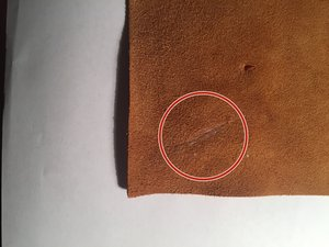 Sewing a Leather Patch