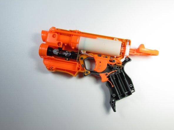 Disassembling Nerf N-Strike Firestrike Blaster Casing