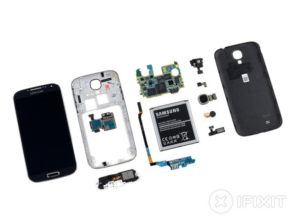 Samsung Galaxy S4 Repairability Score: 8 out of 10 (10 is easiest to repair)