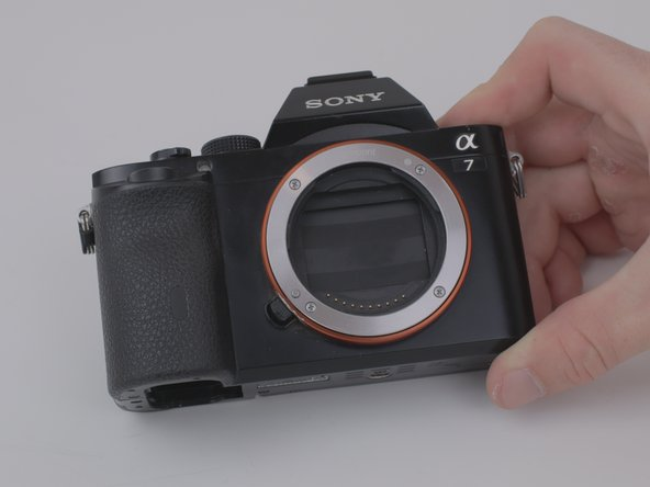 Remplacement de l'ensemble objectif du Sony a7