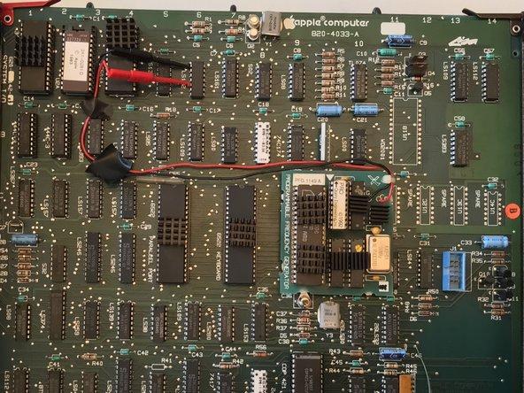 Apple Lisa MacWorks II PFG Instalation