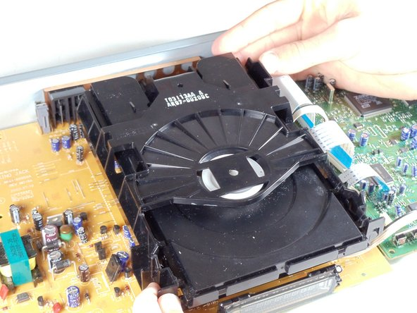 Removing Samsung DVD-P230 Tray