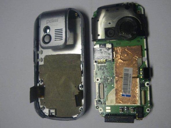Disassembling Palm Centro Logic Board