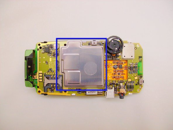 Blackberry 7105t Second Disassembly Replacement