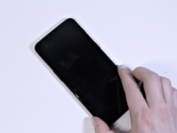 Remove the display from the phone.