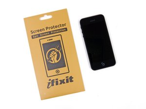 Sostituzione del protettore dello schermo di un iPhone 5
