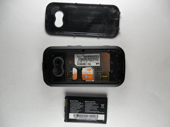LG Neon GT 365 Battery Replacement