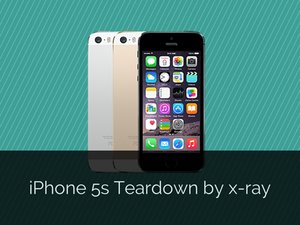 iPhone 5S Teardown by X-ray