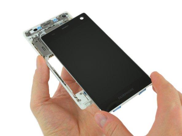 Remplacement de l'écran complet du Fairphone 2