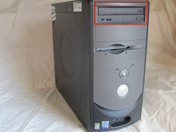 Dell Dimension 4600 Optical Drive Replacement