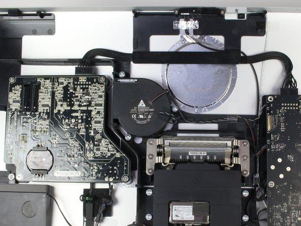 Remplacement du ventilateur du Apple Thunderbolt Display