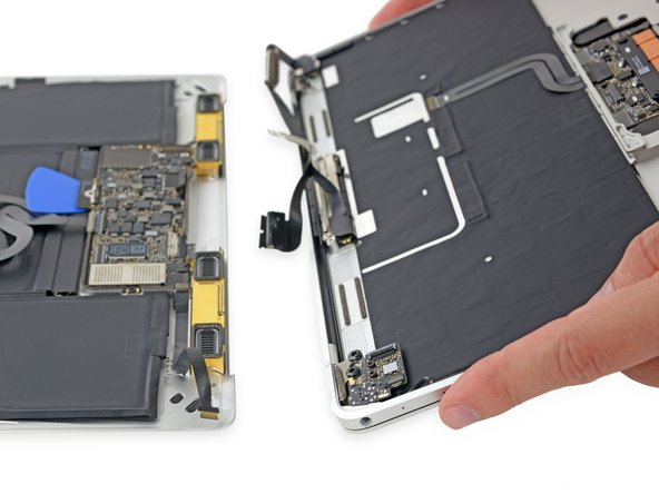 Retina MacBook 2016 Lower Case Assembly Removal