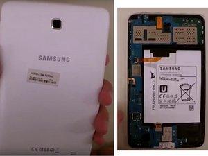 Samsung Galaxy Tab 4 7.0 SM-T230NU Disassembly