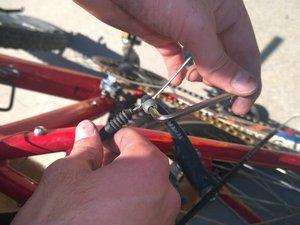 How To Repair A Sticking Mountain Bike Brake Line