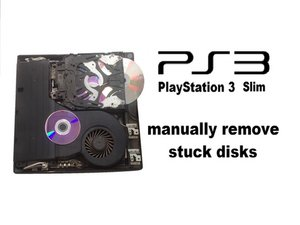 PlayStation 3 Slim - Manually Removing Stuck Disk