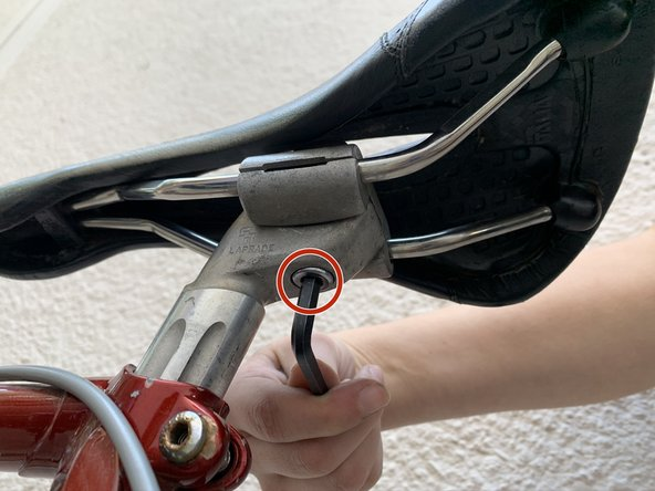 Bicycle Seat Replacement and Positioning for One-Bolt Seatposts