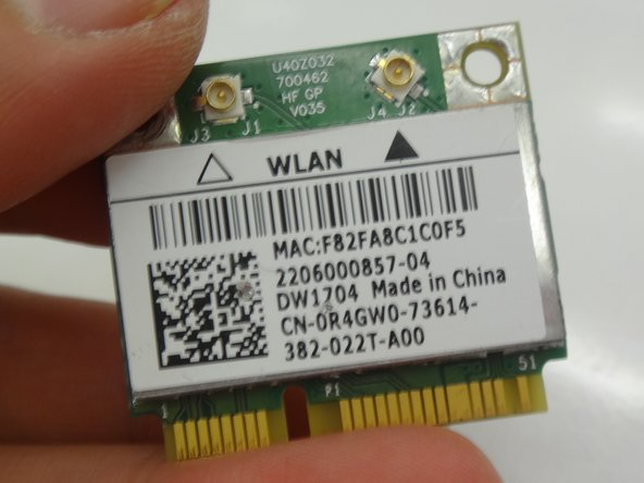 Dell Inspiron 15-3521 Wireless Card Replacement