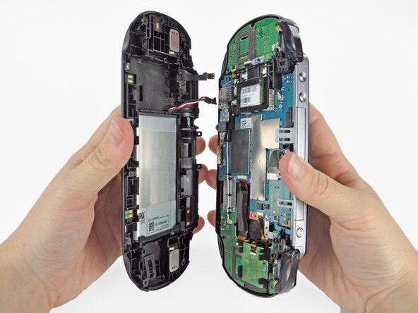 PlayStation Vita Case Separation