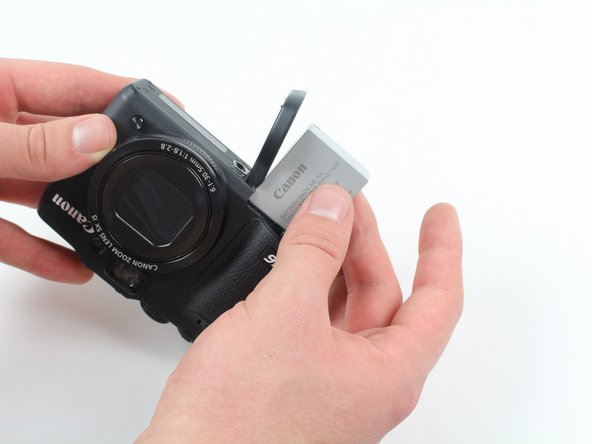 Canon PowerShot G16  Battery Replacement