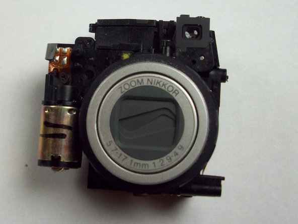Nikon Coolpix 4600 Lens and Flash Assembly Replacement