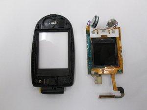 Retrait de l'ensemble d'écran du LG VX8350