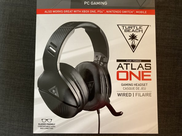 Turtle Beach Atlas One Audio Cable Replacement
