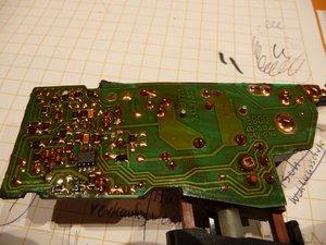 Metabo drill repair electronics