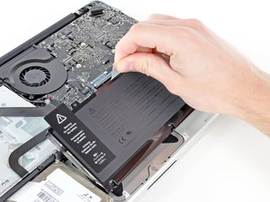 "MacBook Pro 13"" Unibody 中期2012 电池更换"