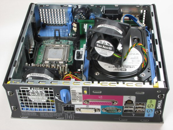 Dell Optiplex SX280 Upper Fan Replacement