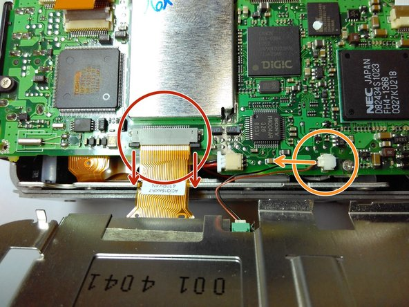 Remove the power cable from the main board.