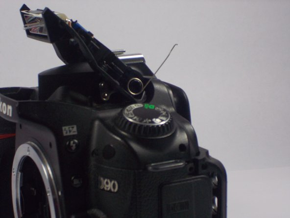 Nikon D90 Flash Hinge Spring Replacement