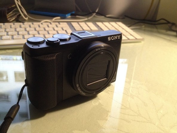 Sony DSC-HX50V Lens Replacement