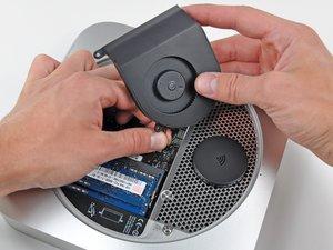 Installazione della ventola nel Mac mini versione metà 2010