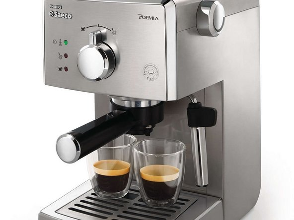 The Saeco Poemia is a manual espresso machine. It is a simple design as it does not contain a microcontroller and is similar to other manual espresso maker designs.