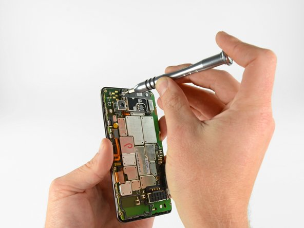 The 4G LTE SIM card board is held on by a few screws.