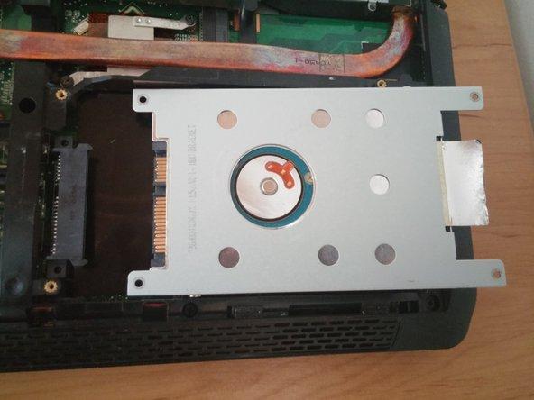 Remplacement du disque dur d'un Asus K52JC