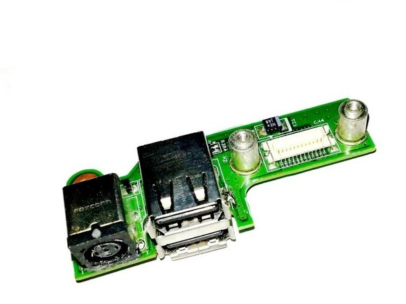 Dell Inspiron 1525 DC Power Board Replacement