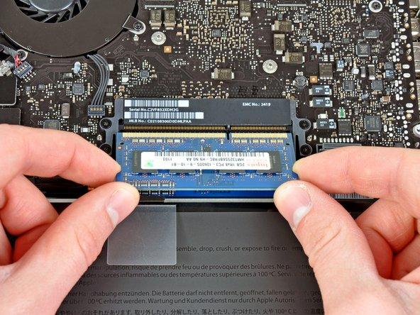 MacBook Pro (13 Zoll, Mitte 2012, Unibody) RAM austauschen
