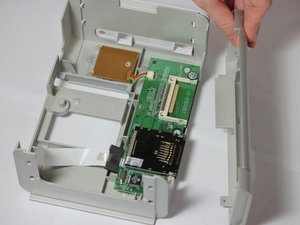 Removal of the Control Panel Motherboard