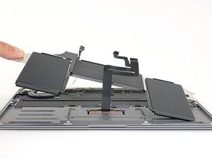 MacBook Air 13インチ Retina Display Late 2018 バッテリーの交換