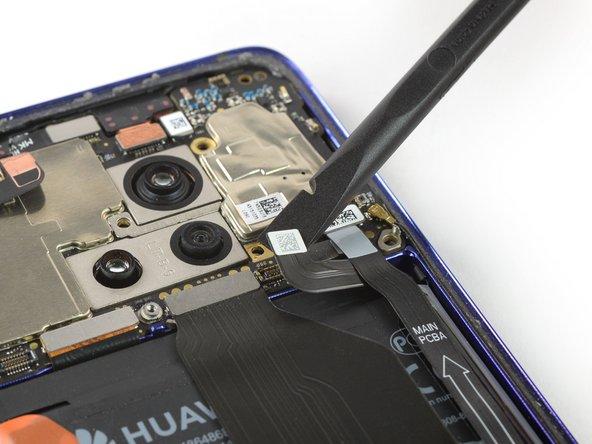 Huawei Mate 20 Pro Loskoppelen van de batterij