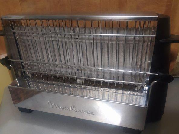 Reparar resistencia quemada del tostador Moulinex A15453