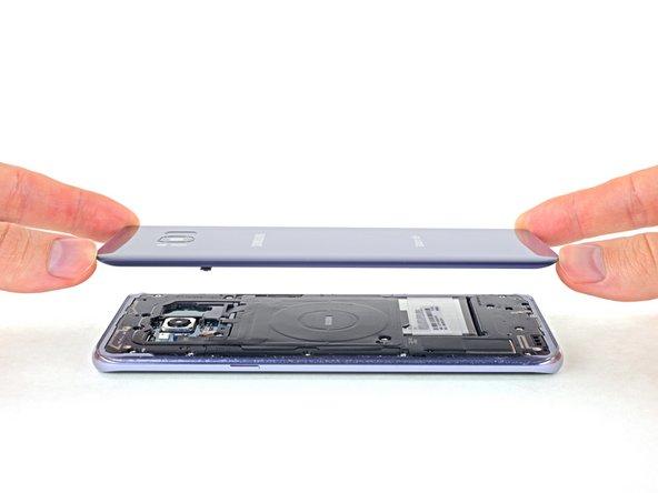 Remplacement de la vitre arrière du Samsung Galaxy S8 Plus