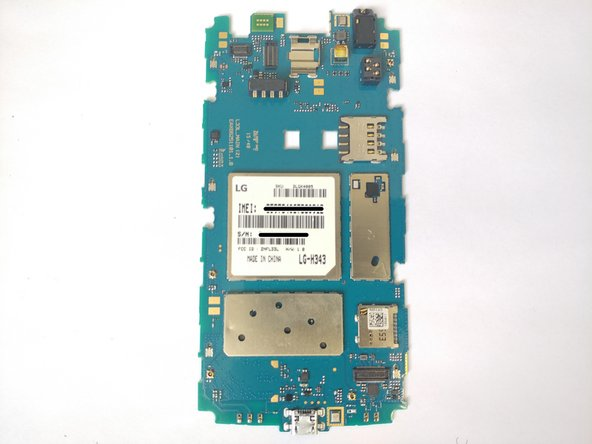 LG Risio Motherboard Replacement