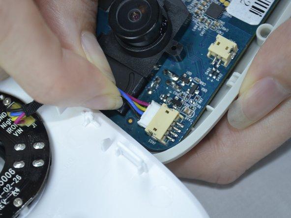 Remplacement du boitier avant du Belkin NetCam HD Plus