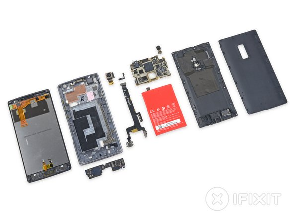OnePlus 2 Repairability Score: 7 out of 10 (10 is easiest to repair).