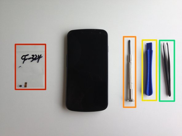 Samsung Galaxy Nexus Power Button Replacement