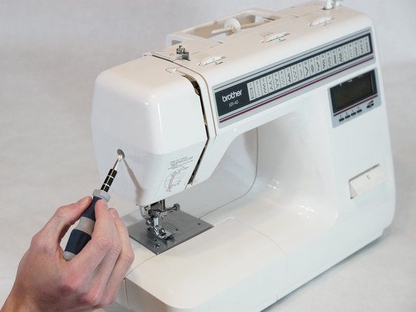 Place the machine on a solid surface.