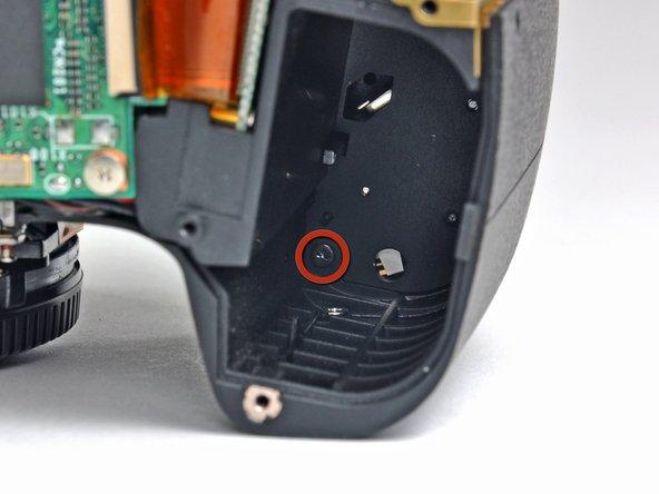 Nikon D70 Grip Replacement