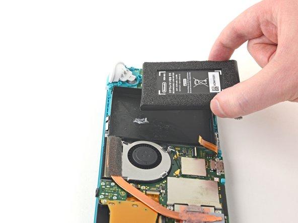 Remplacement de la batterie de la Nintendo Switch Lite